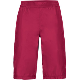 VAUDE Drop fietsbroek kort Dames, crimson red